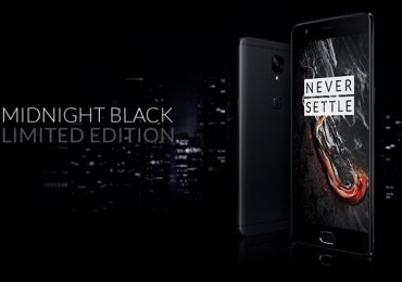 OnePlus 3T Midnight Black Limited Edition Launched in India sale on March 31