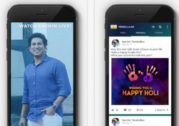 Sachin Tendulkar launched 100 MB Cricket Application for Android, iOS Operating System