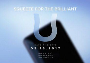 HTC U 11 Teaser Hints At 'Squeezable' Edge Sensor Again