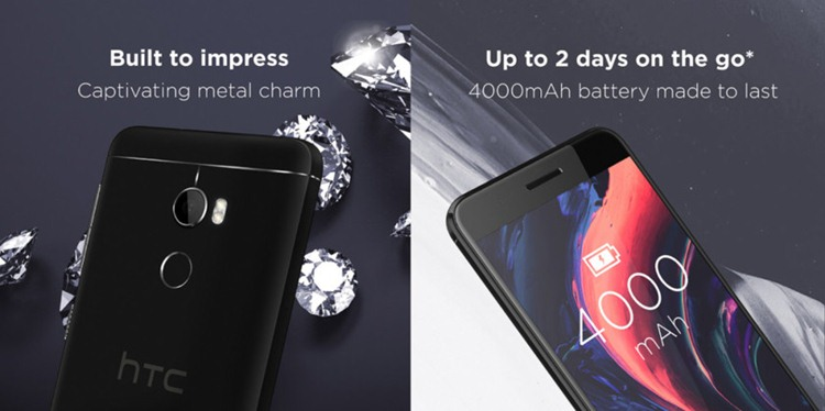HTC One X10 4000mAh battery