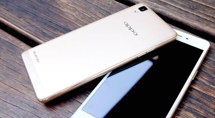 Oppo F3 Dual Front Camera
