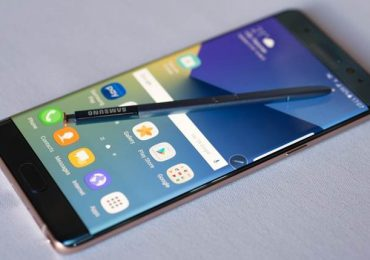 Samsung Galaxy Note 7R Smartphone Images, Android 7.0 Nougat
