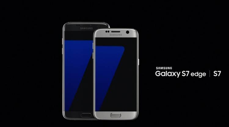 Samsung GalaxyS7and S7 edge