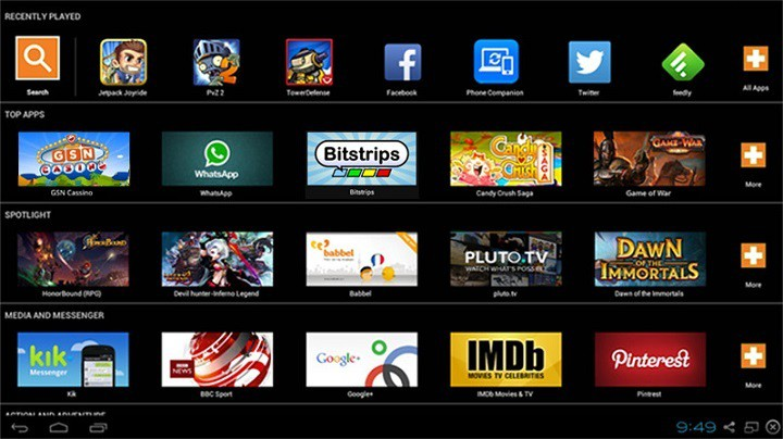 BlueStacks Android Emulators PC