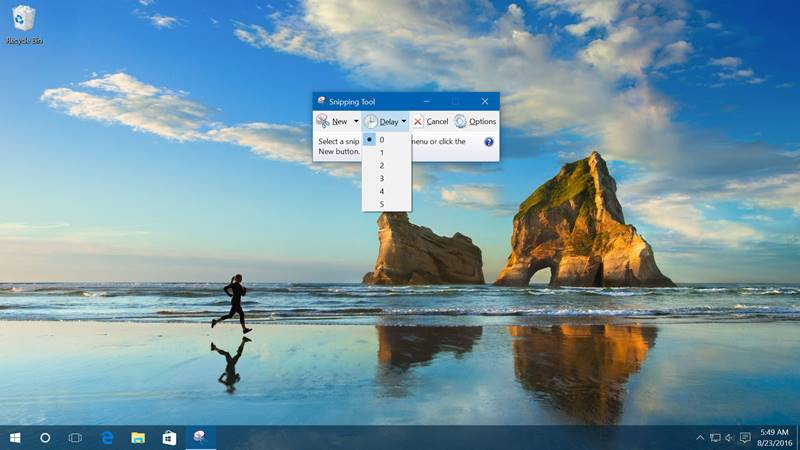 Download snipping tool for Windows 10