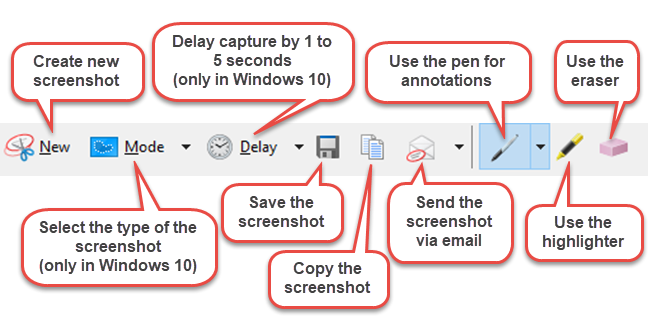 How to Edit a Screenshot in the Snipping Tool