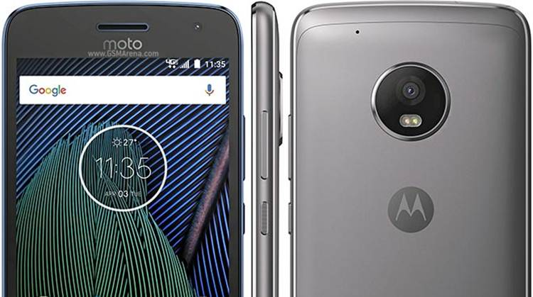 Moto G5 Plus Smartphone
