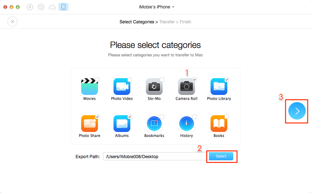 How to transfer Multiple Photos from iPhone to Mac