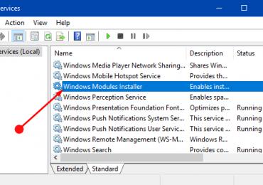 Windows Modules Installer Worker High CPU & Disk Usage [Windows 10]