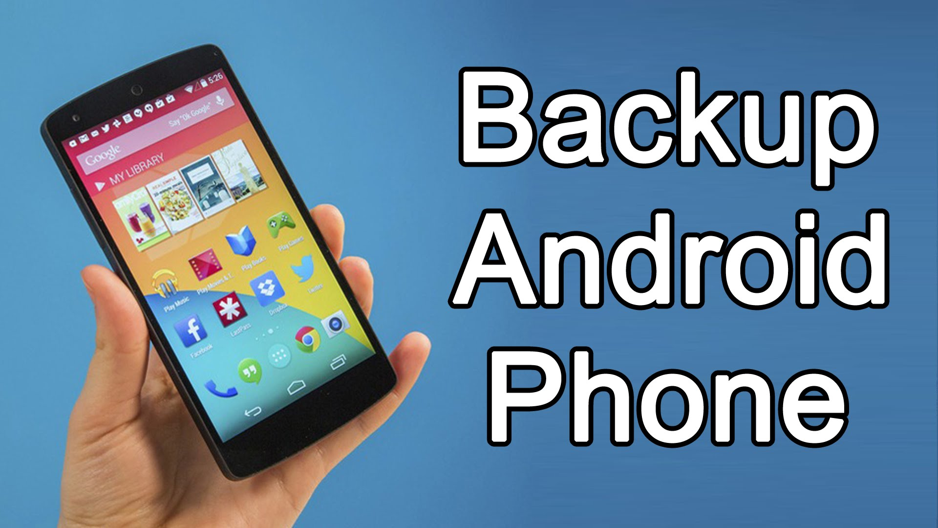 How to Take Backup of Android Phone on Google Cloud?