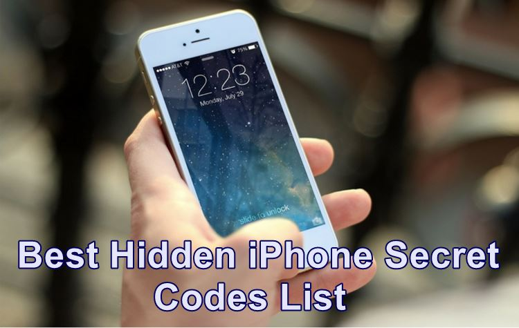 iPhone Secret Codes