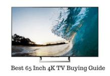 65 Inch 4K TV