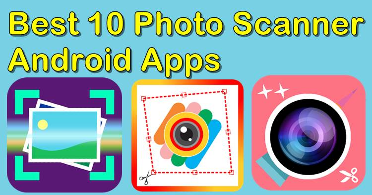 Photo Scanner Apps