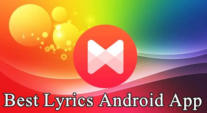 Songs Lyrics Android App