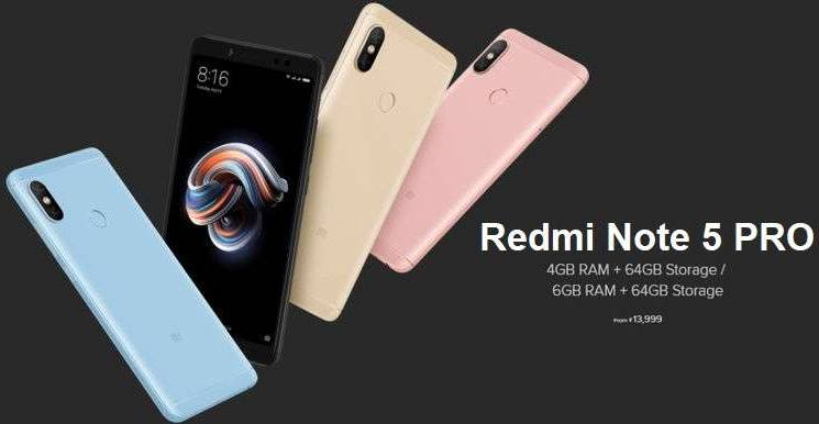 Xiaomi Redmi Note 5 Pro Wallpaper With Abstract Blue Light: Xiaomi Redmi Note 5 Pro Review: Price In India, Features