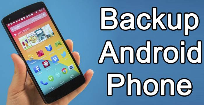 How to Backup Your Android Smartphone