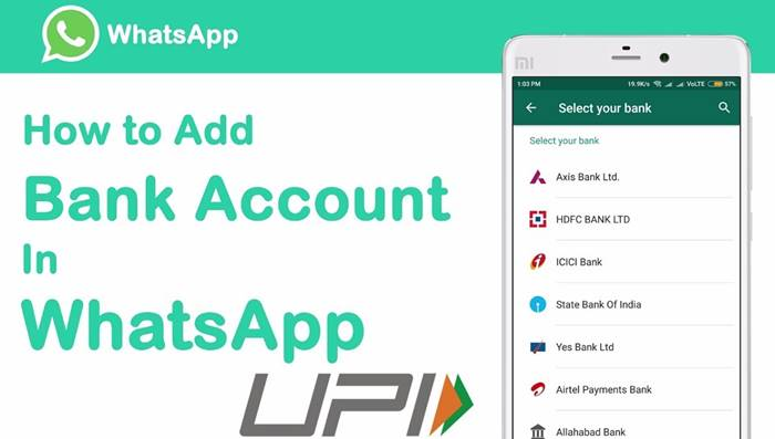 Add a Bank Account in WhatsApp Payment