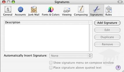 How to Create an Email Signature For Apple Mail